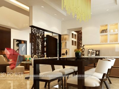 freash white color dinning interior designs 3d views 3d floor plans 3d power interior designs latest desings modern interior of dinning
