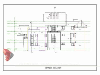 bungalow working drawing