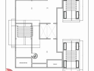 cad house plan