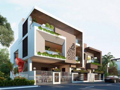 best-3d-visualization-studio-ahmadnagar-rendering-services-bungalow-day-view