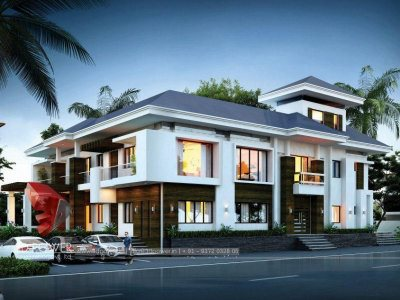 barddhaman-top-architectural-rendering-services-bungalow-night-view