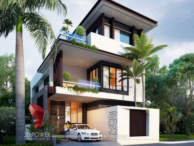 best-architectural-design-studio-hisar-architectural-rendering-services-bungalow-eye-level-view