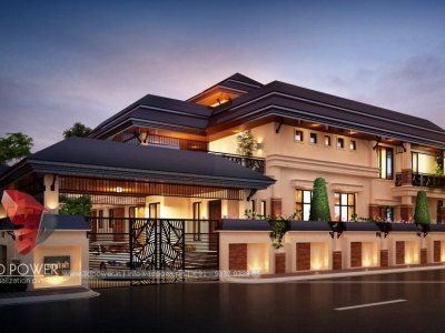 kangra-architectural-outsourcing-company-bungalow-night-view-3d-modelling