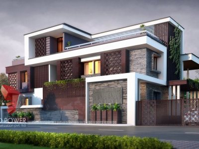 Best-3d-landscape-design-company-ludhiana-bungalow-exterior-design-rendering-3d-visualization