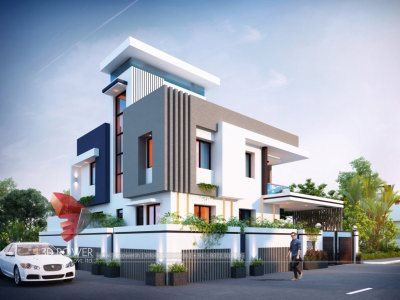 modern-bungalow-design-ludhiana-3d-exterior-rendering-bungalow-top-architectural-rendering