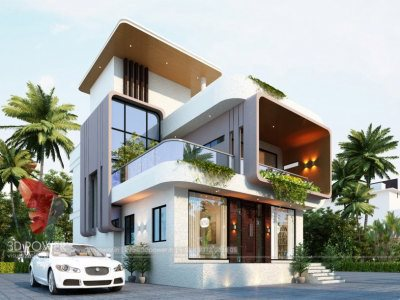 elevation-of-bungalow-design-3d-house-nagpur-3d-architectural-modeling-day-view