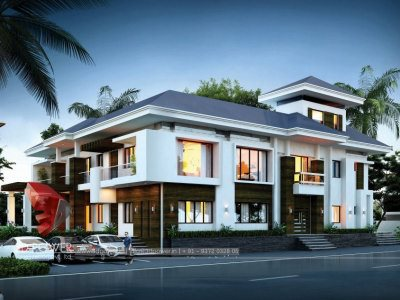 nagpur-top-3d-architectural-rendering-services-bungalow-night-view-nagpur