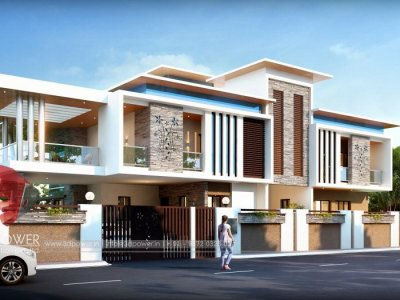 3d visualization thane city bungalow top architectural rendering services