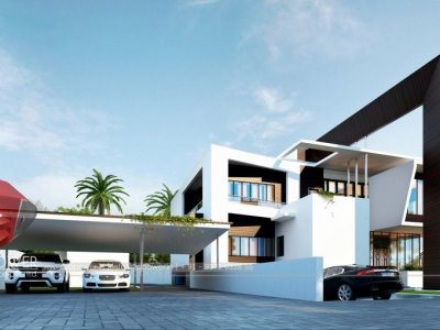 Architectural Bungalow Thane  3d designing services bungalow walkthrough rendering services