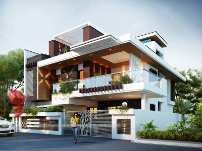 architectural visualization bungalow 3d view 3d designing services in thane