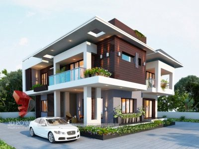 bungalow elevation outsourcing in thane architectural rendering services