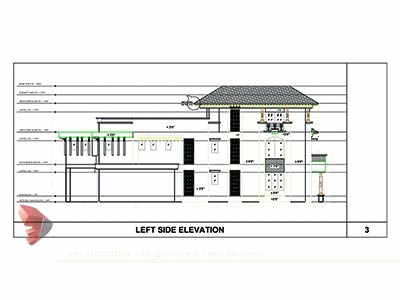 Roof Plan And Elevation
