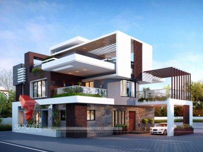 3d-exterior-rendering-bungalow-evening-view