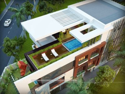 3d-modeling-&-rendering-services-bungalow-birds-eye-view-exterior-design-rendering
