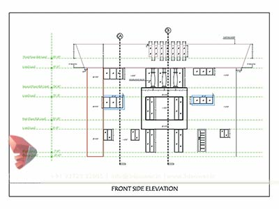 bungalow drawing design