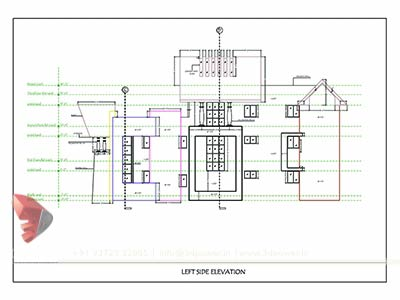 bungalow drawing plan