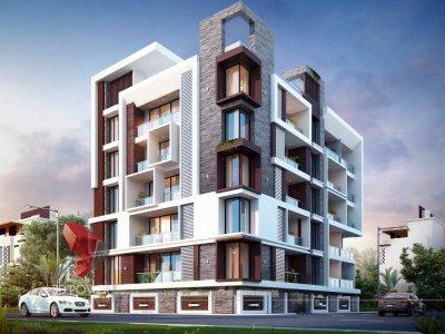 exterior-design-rendering-bungalow-evening-view