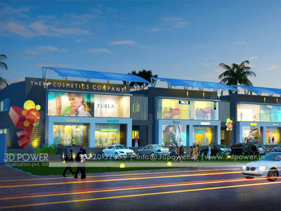 shopping mall exterior design