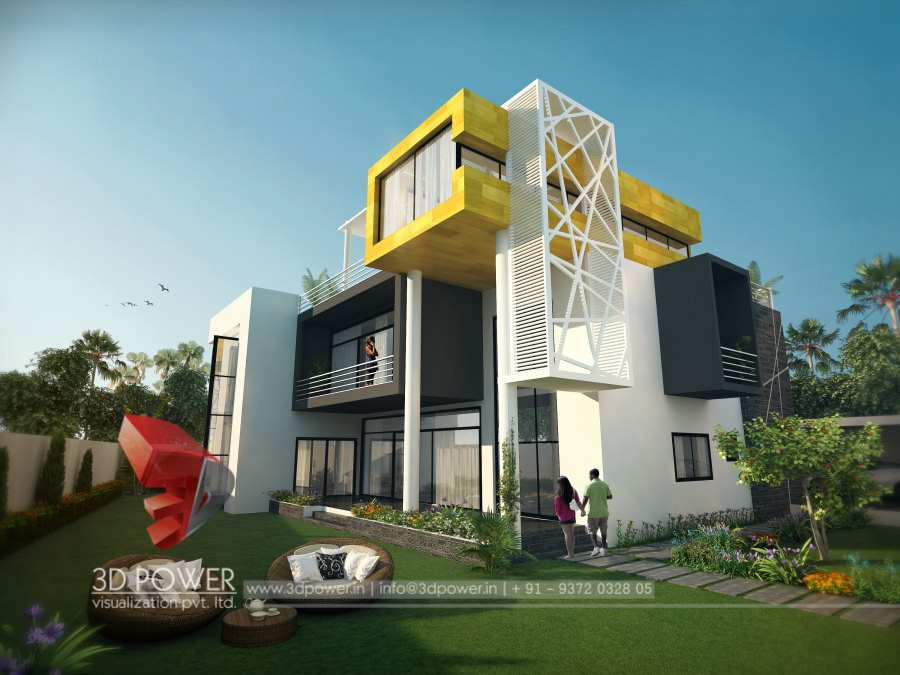 3d contemporary bungalow design bungalow design rendering 3d power