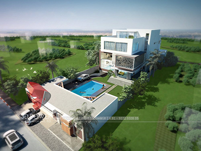 3d-walkthrough-bungalow-day-view