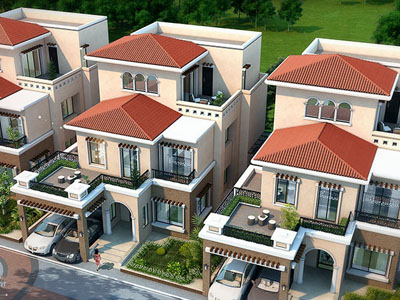 Day View bungalow design India