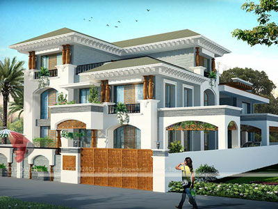 3D Power Bungalow