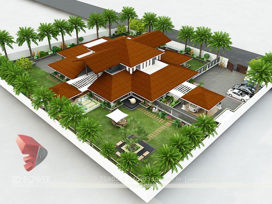 simple modern house floor plans 3d. modern home 3d exterior rendering house design simple floor plans 3d e