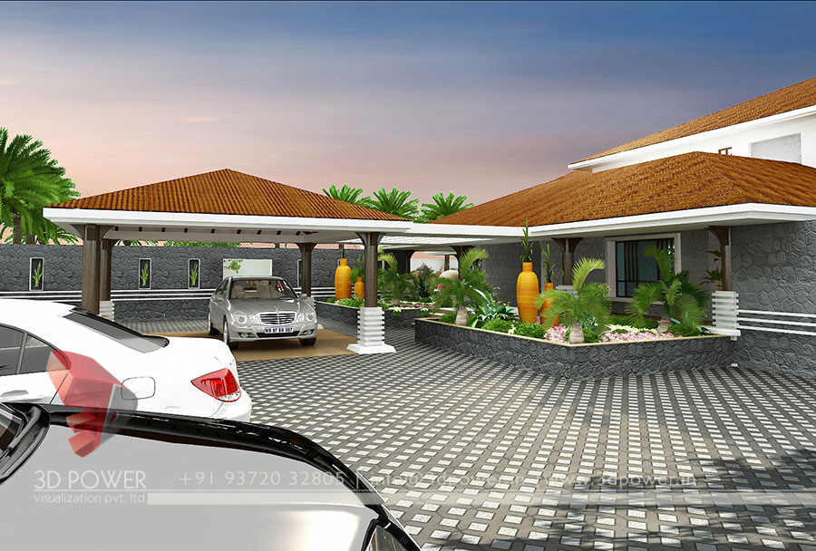 Gallery 3d Architectural Rendering 3d Architectural Bungalow