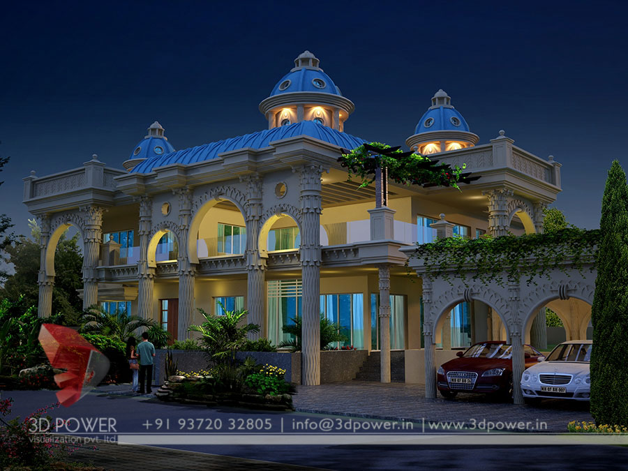 Gallery Architectural 3d Bungalow Rendering Modern 3d