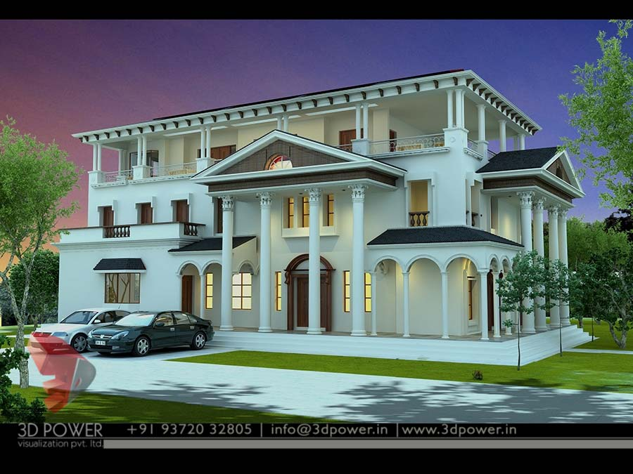 Contemporary Bungalow Render