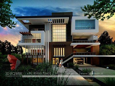 3dpower bungalow elevation