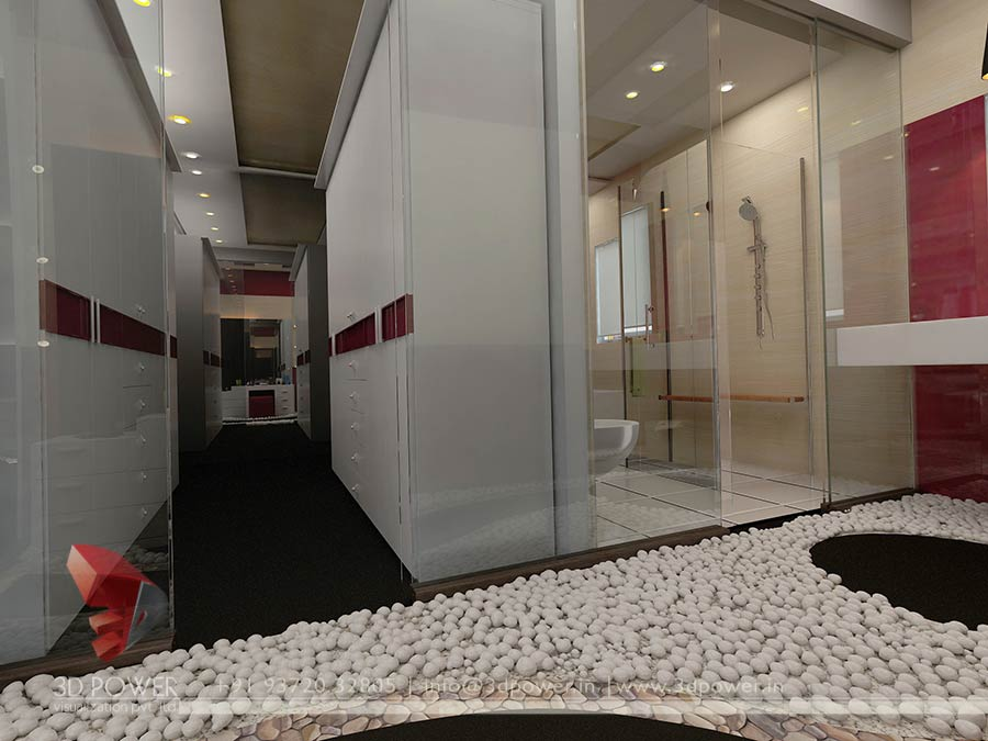 Gallery 3d architectural rendering 3d architectural for Bathroom design uae