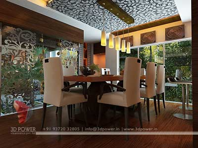 modern dinning room interior design