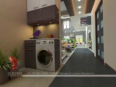 interior design house 3d render