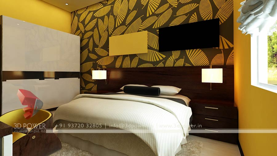 bedroom interior design 3d - 3d Design Bedroom