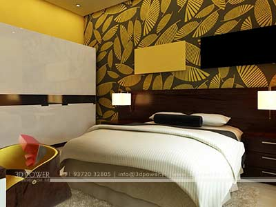 bedroom interior design 3d