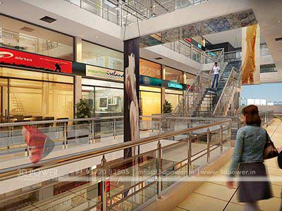 shopping mall 3d design