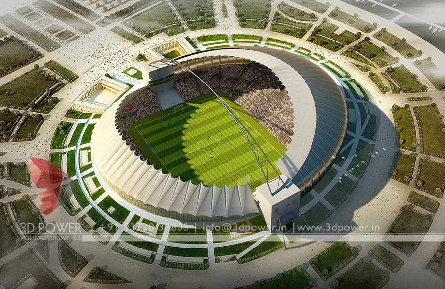 3d stadium design widescreen - photo #8