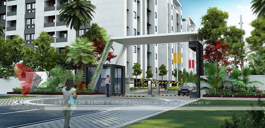 Gallery Architectural 3d Township Design 3d
