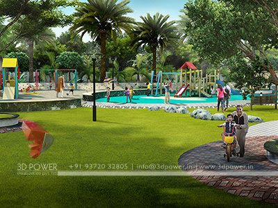 play area modern township design