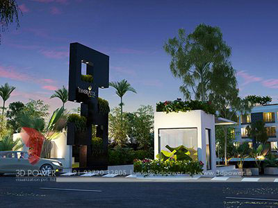 township entrance gate design