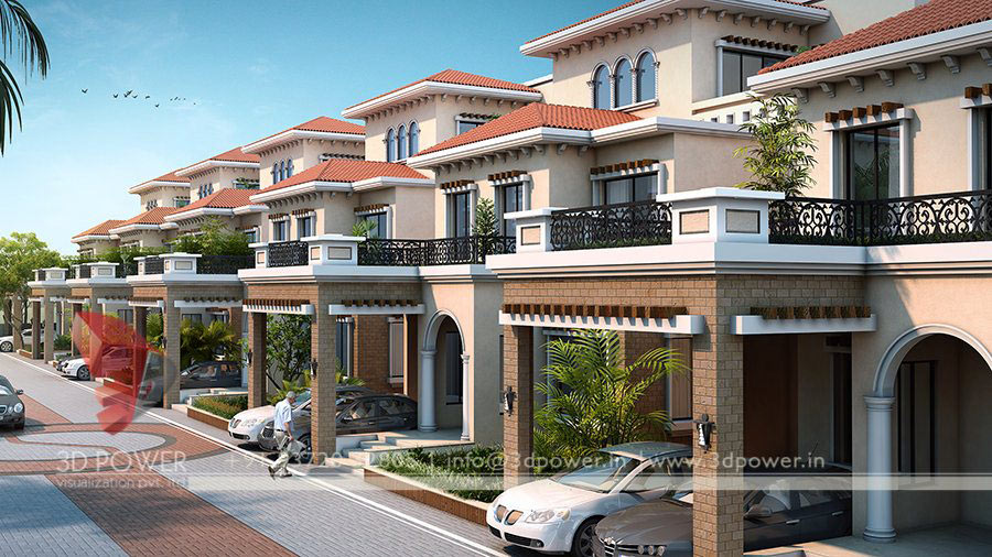 House Front Elevation Designs In Coimbatore : Gallery d architectural rendering services