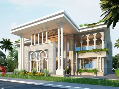 3D-Architectural-Visualization-Company-bungalow-with-modern-view