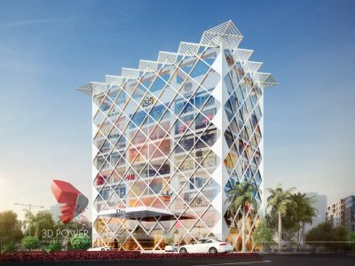 commercial-building-elevation-office-rendering-shopping-mall-design