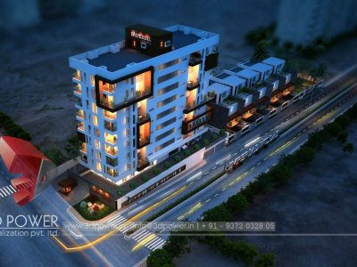 night-view-birds-eye-rendering-architectural-visualization