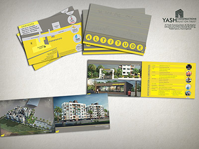brochure design architectural rendering