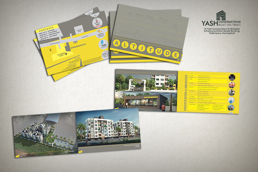 Architecture Design Brochure 3d township architectural design rendering | contemporary township
