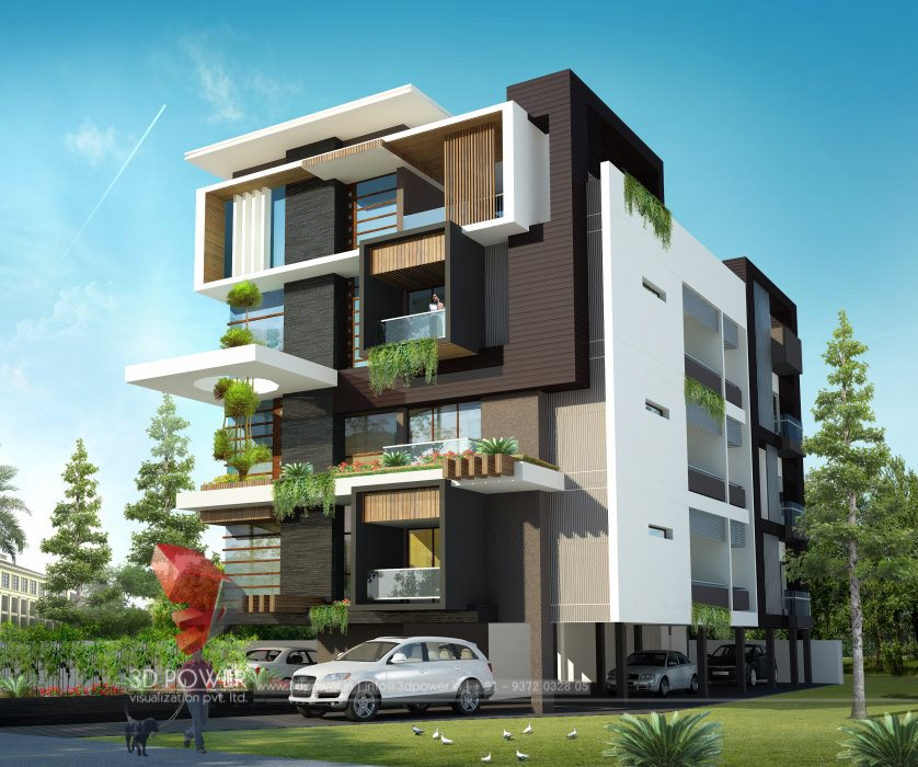3d Elevation Designers In Bangalore: Architectural 3D Modeling Services