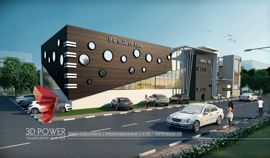 Architectural visualization company 3d visualization for Exterior design company