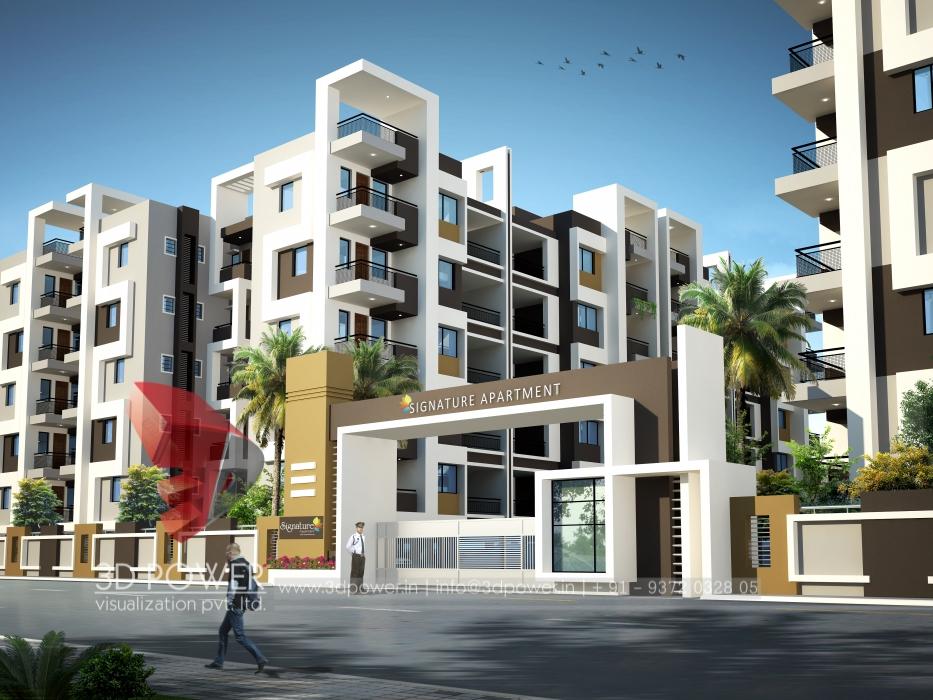 3D Contemporary Apartment Design | Apartment Design ...